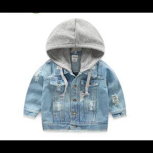 NWT 4T unisex jean jacket